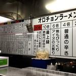 Hokkaidouramenrairaiken - 競馬新聞風のユニークなメニュー