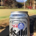 木曽駒高原カントリー - スタート前に一杯