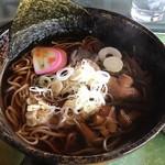 木曽駒高原カントリー - きのこ蕎麦
