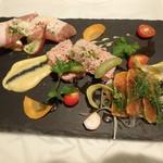 North 40-40 - 料理写真:前菜3品盛り合わせ¥1,900