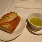 North 40-40 - フランスパンおいしい♪塩オリーブオイル