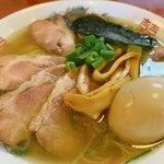 煮干中華 あさり - 肉塩中華そば+味玉