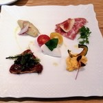 colours - 前菜5種