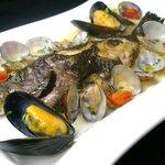 ボラーレ - 本日の鮮魚!!アクアパッツァで。