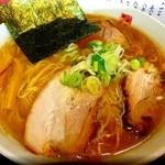 麺屋 三四郎 - 醤油らーめん大盛