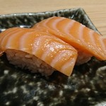 鮨・酒・肴 杉玉 - 飲めるサーモン