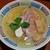 らーめん竹馬 - 料理写真:鶏そば白醤油