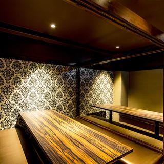大衆居酒屋では珍しい!60名様がご利用いただける個室を完備◎