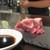 ながおか - 料理写真:14日間熟成、山葵醤油で