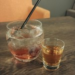 ミライスト CAFE×SWEETS×BAR - プルーンサワー 700円 アールグレイ付きです
