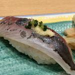 築地寿司清 - 追加した鯵
