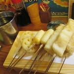 串あげ ムタヒロ - おまかせ5本盛り 2セット