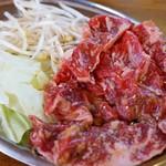 東山食堂 - 牛ハラミ
