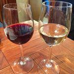 つつみの一歩 - 赤ワイン フォルタンカベルネソーヴィニヨン 480円、白ワインは銘柄忘れました。。