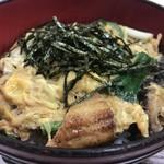 みなと食堂 - 焼き穴子のたまごとじ丼680円(2019.11.11)
