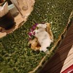 四季彩ダイニング 春 - 虎河豚の白子和え