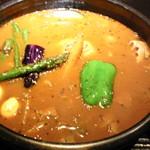 ラマイ - スープの具「チキン\980」アンプーン\100(大盛の更に上)