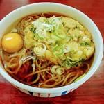 カタクリの花 - 料理写真:天玉そば(並麺)