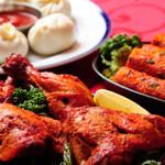 インドレストラン ニューカリカ - タンドリーチキン&モモ