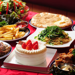 インドレストラン ニューカリカ - バースデーパーティーコース