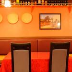 インドレストラン ニューカリカ - テーブル
