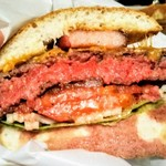 Urufugyangusutekihausu - ニューヨークスタイル ベーコン&チーズハンバーガー