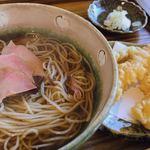 蕎麦 みづ乃 - 海老天そば