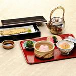 竹葉亭 - 鯛茶&白焼