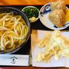 麺処 やま志 - 料理写真:ごぼう天うどん、鶏にぎり