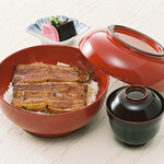 竹葉亭 - 椿丼