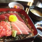 日本料理 笛吹川 - 鉄火丼