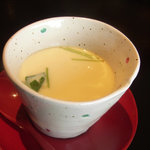 日本料理 笛吹川 - 茶碗蒸し