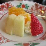 日本料理 笛吹川 - デザート