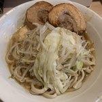 麺屋 味方 - 【2019.9.18】ラーメン750円 ニンニク、ヤサイ