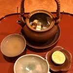 119506994 - 鱧と松茸の土瓶蒸し