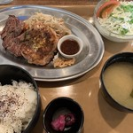 Jackson's N.Y.DINER - コンビニステーキランチ900円