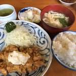 串カツ屋 光助 - 料理写真:♪チキン南蛮定食(大盛)¥800