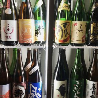日々入れ替わる「日本酒」❗️(全国から厳選☆)