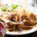 六本木 ちょっと - 味噌味豚生姜焼き