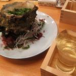 浅草 寿司清 - 超特大 地さざえ(船形)
