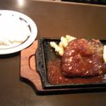 resutorankonishi - 6日に食べた、ハンバーグライス