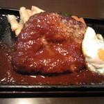 resutorankonishi - ハンバーグのアップ