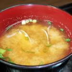 花水木 - 味噌汁 ( 定食 ) 2019/11/07