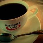 ハモナカフェ - 食後のコーヒー。