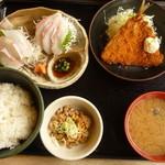 11953207 - 幻のアラ刺身¥1880