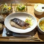野菜とさかな - 魚のプレート