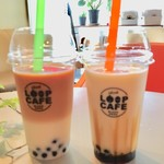 cafe&bar Loopcafe - 黒糖タピオカドリンク