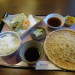 よ志竹 - 天ぷらセット