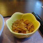 よ志竹 - 天ぷらセットの小鉢
