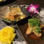 九州薩摩地鶏×個室居酒屋 由布院 - 前菜